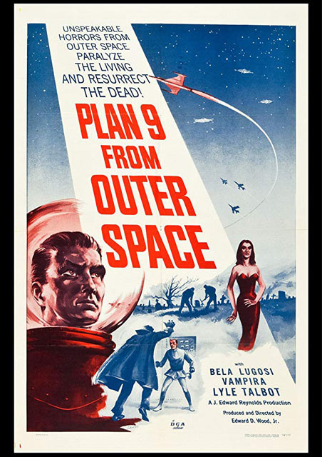 I Can't Believe You Haven't Seen… Plan 9 from Outer Space